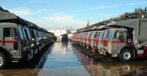 Athens Services - Commercial Services - Hauler Fleet