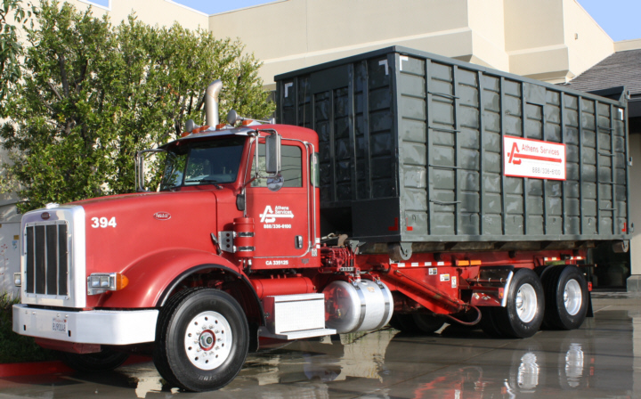Athens Services - Rent Containers - Roll Off - Order Special Services - Residential Services