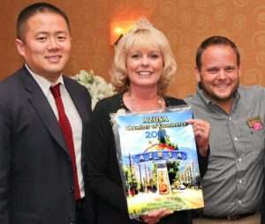 """""""2012 Business of the Year"""" - Athens Services - awarded Azusa Chamber of Commerce - 2012 Business of the Year - Community Recognitions, Honors, and Awards"""