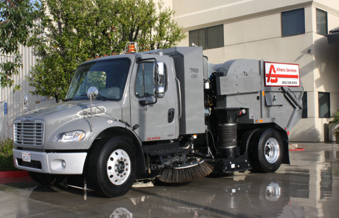 Athens Services - Street Sweeping / Sweeper - Residential Services - Order Special Services