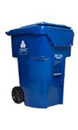 Blue Recycling Container