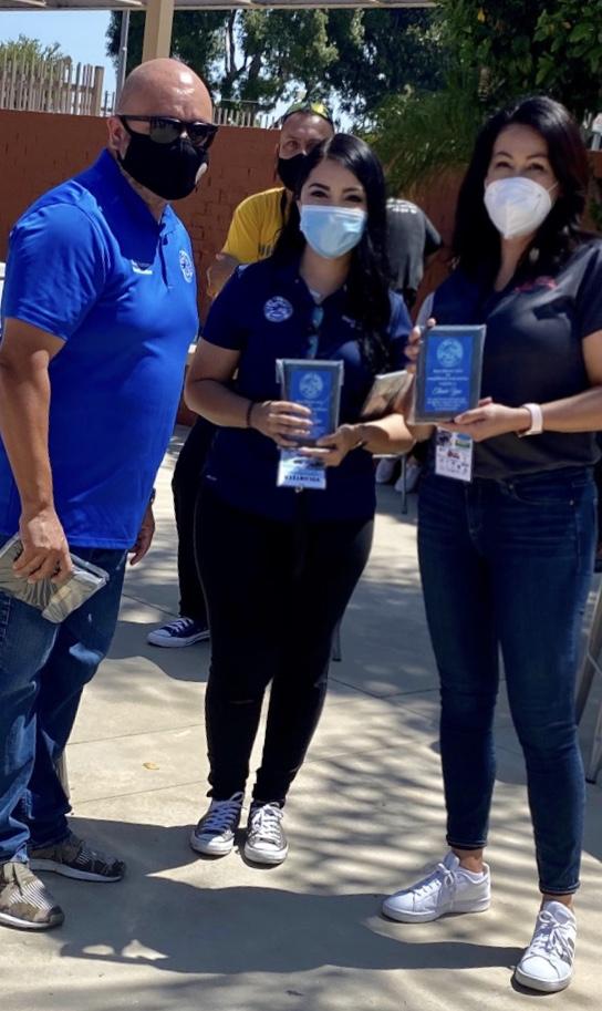Susan Ayala, Councilman Pedro Aceltuno, and Mayor Alejandra Cortez
